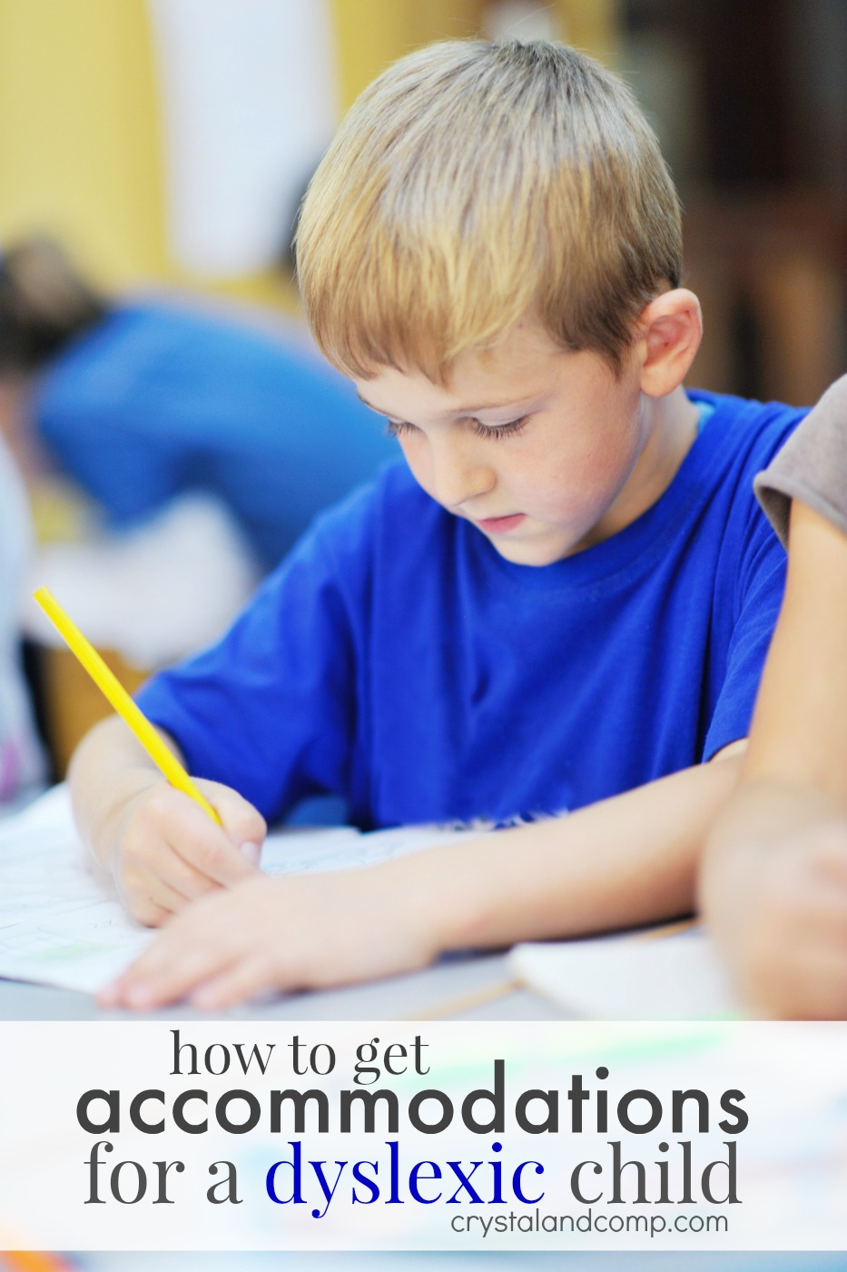 how to ask for accommodations for a dyslexic student