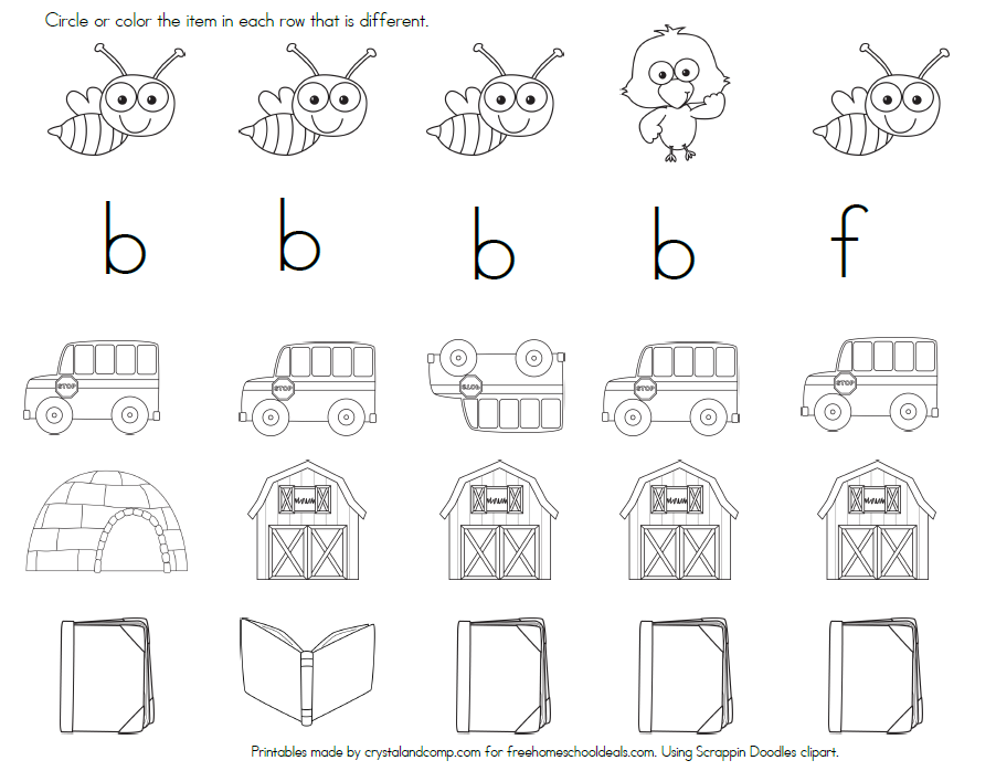 Color the bus and then trace the letters b-u-s.