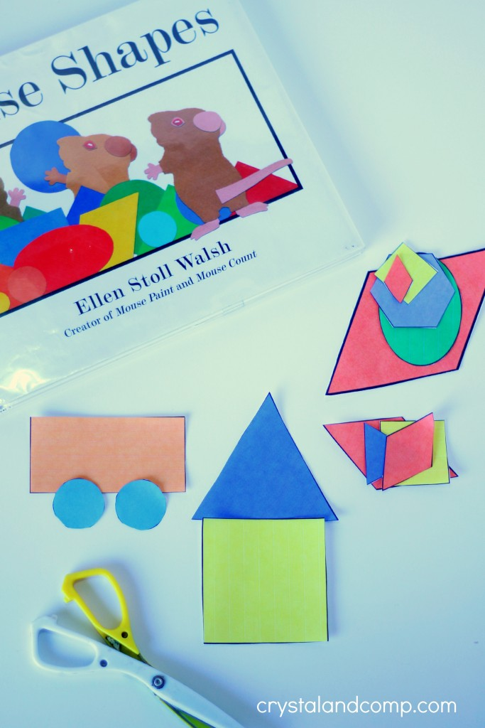 Shape Activity for Kids by Crystal and Co.