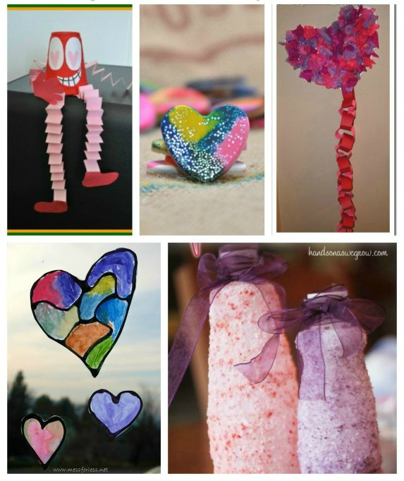paper valentine craft