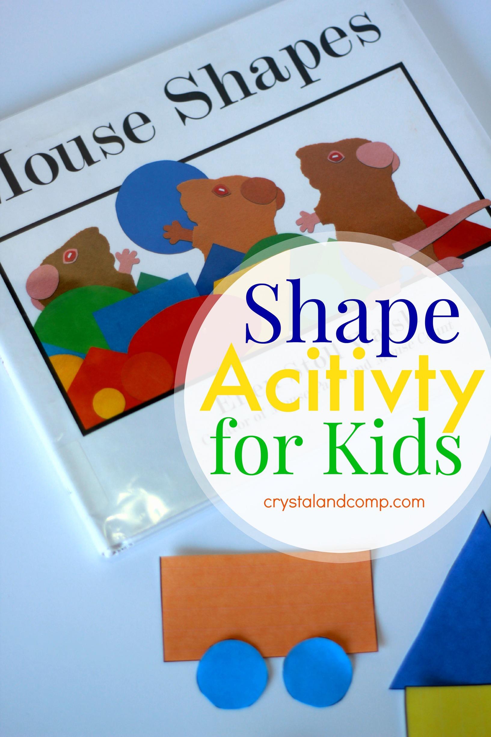 shape activities for kids. Black Bedroom Furniture Sets. Home Design Ideas