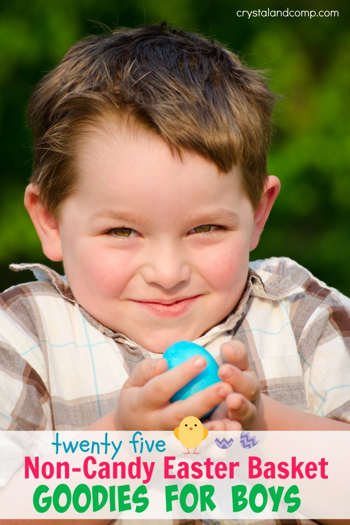 Easter basket items for boys that are not candy