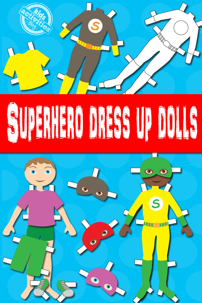 Superhero-Boy-Paper-Dolls