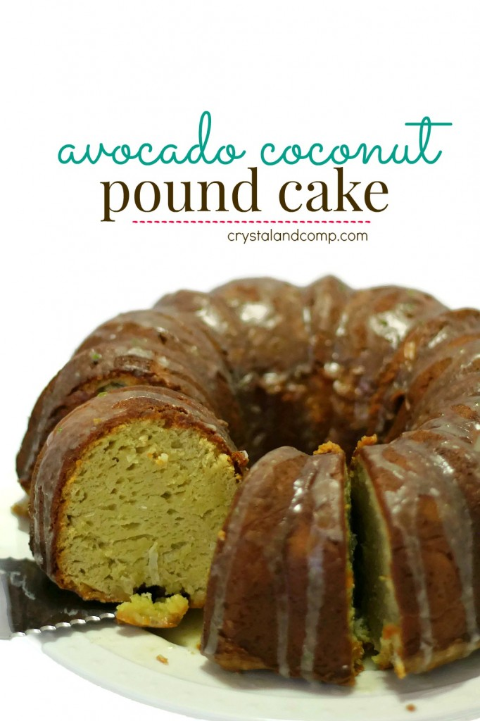 how to use Avocados From Mexico to make an Avocado Coconut Pound Cake ...