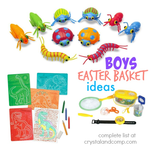 boys easter basket ideas