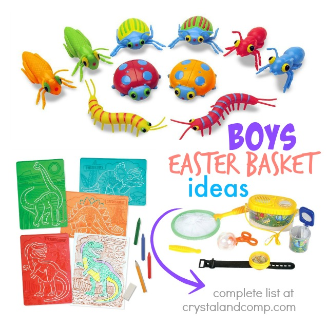 boys easter basket ideas complete list