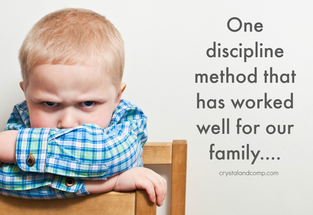 discipline method for parents and kids