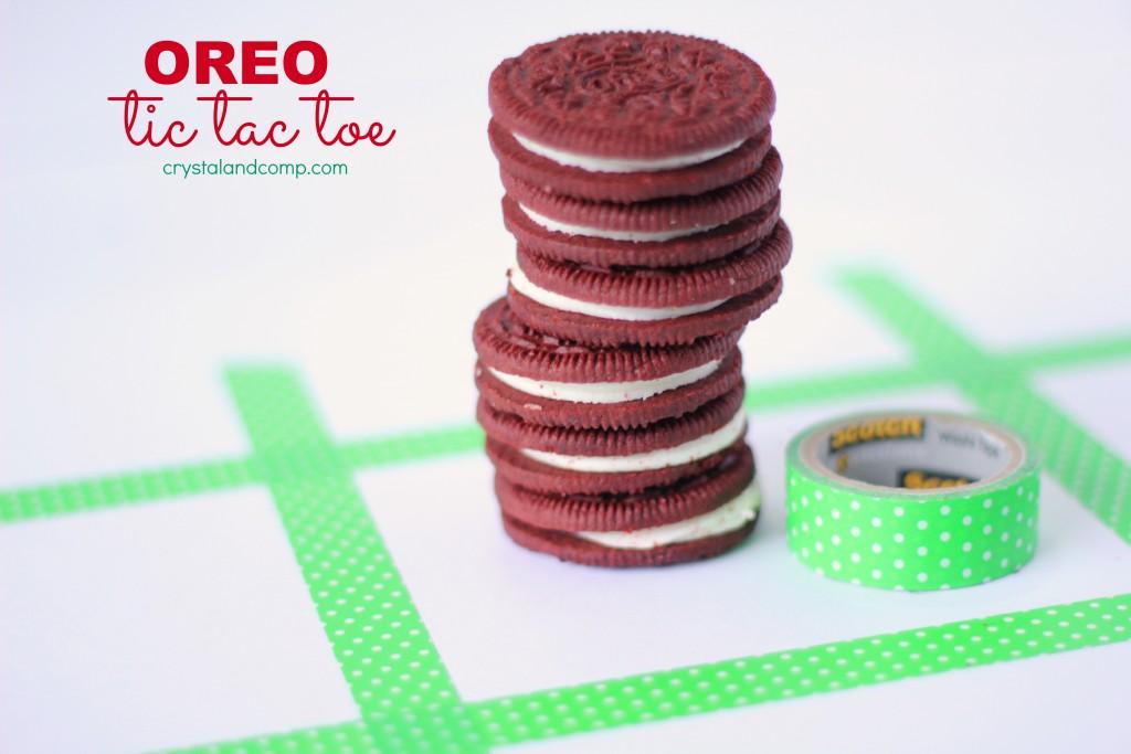 how to play oreo tic tac toe