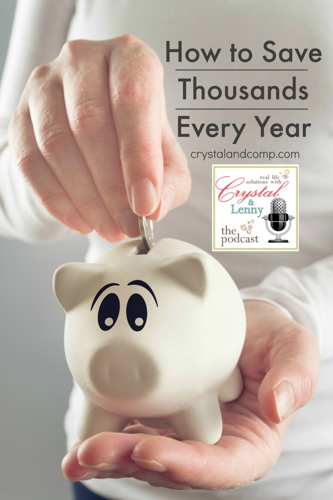 how to save thousands every year podcast