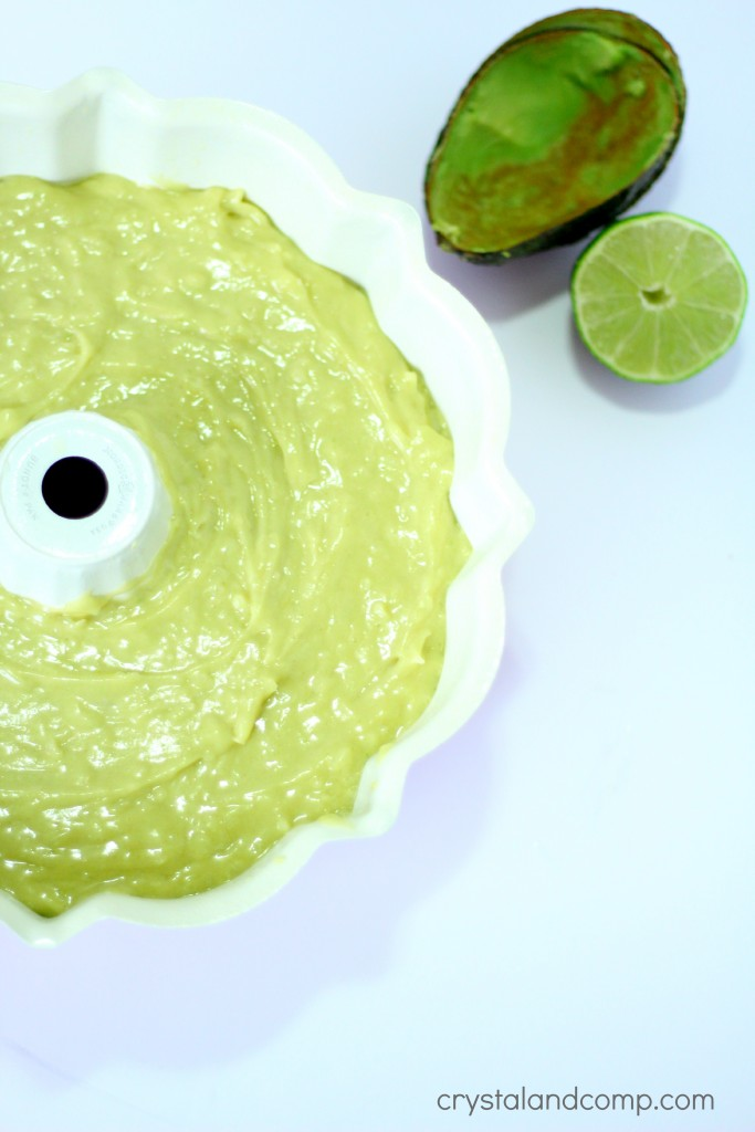 how to use avocado in a cake
