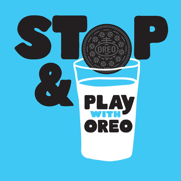 stop and play with oreo