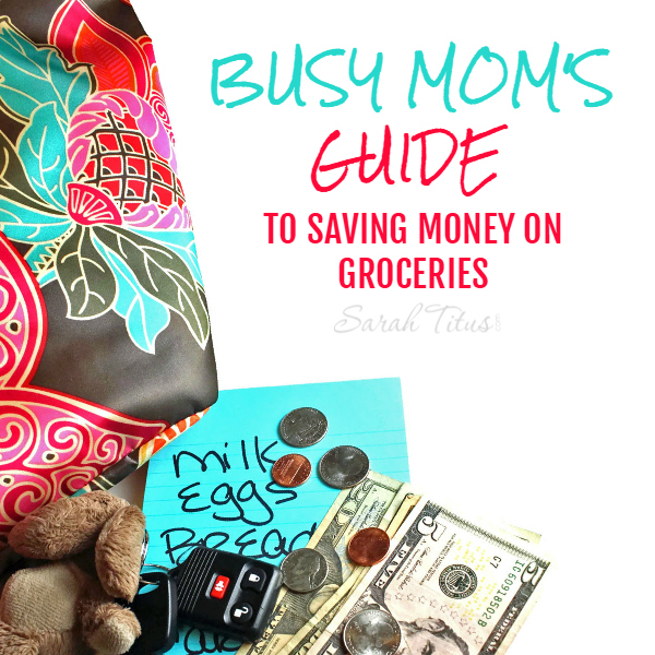 There are some fantastic ways you can save money on groceries, without running to 5 different stores in 2 different cities and clipping coupons for 4 hours every week. Check out this Busy Mom's Guide To Saving Money on Groceries!