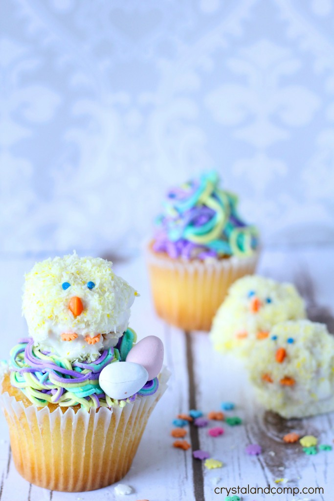 birdie rice krispies for easter tutorial