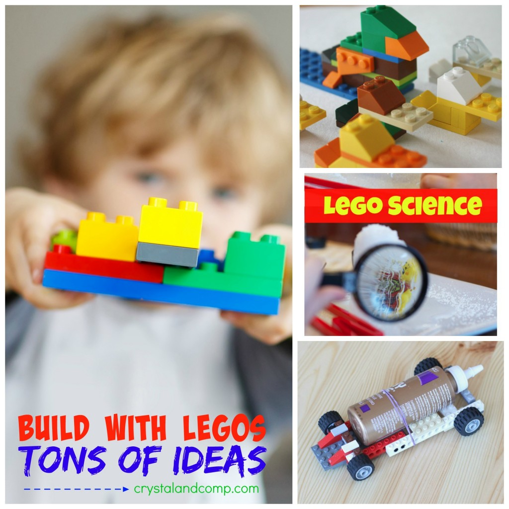 build with legos
