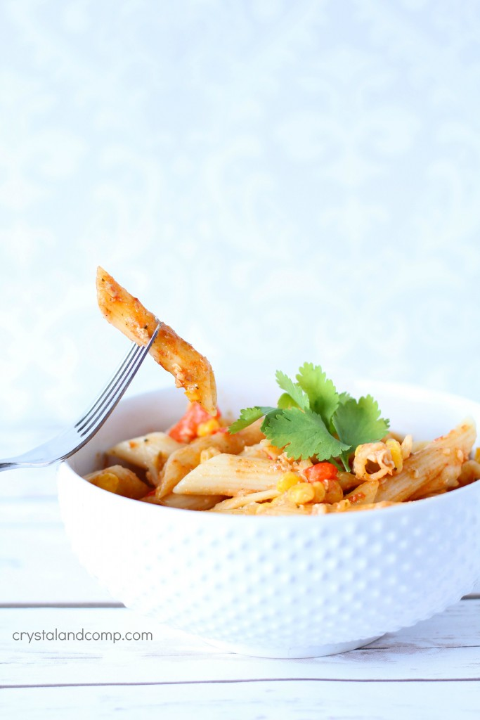 cheesy chicken pasta an easy recipe
