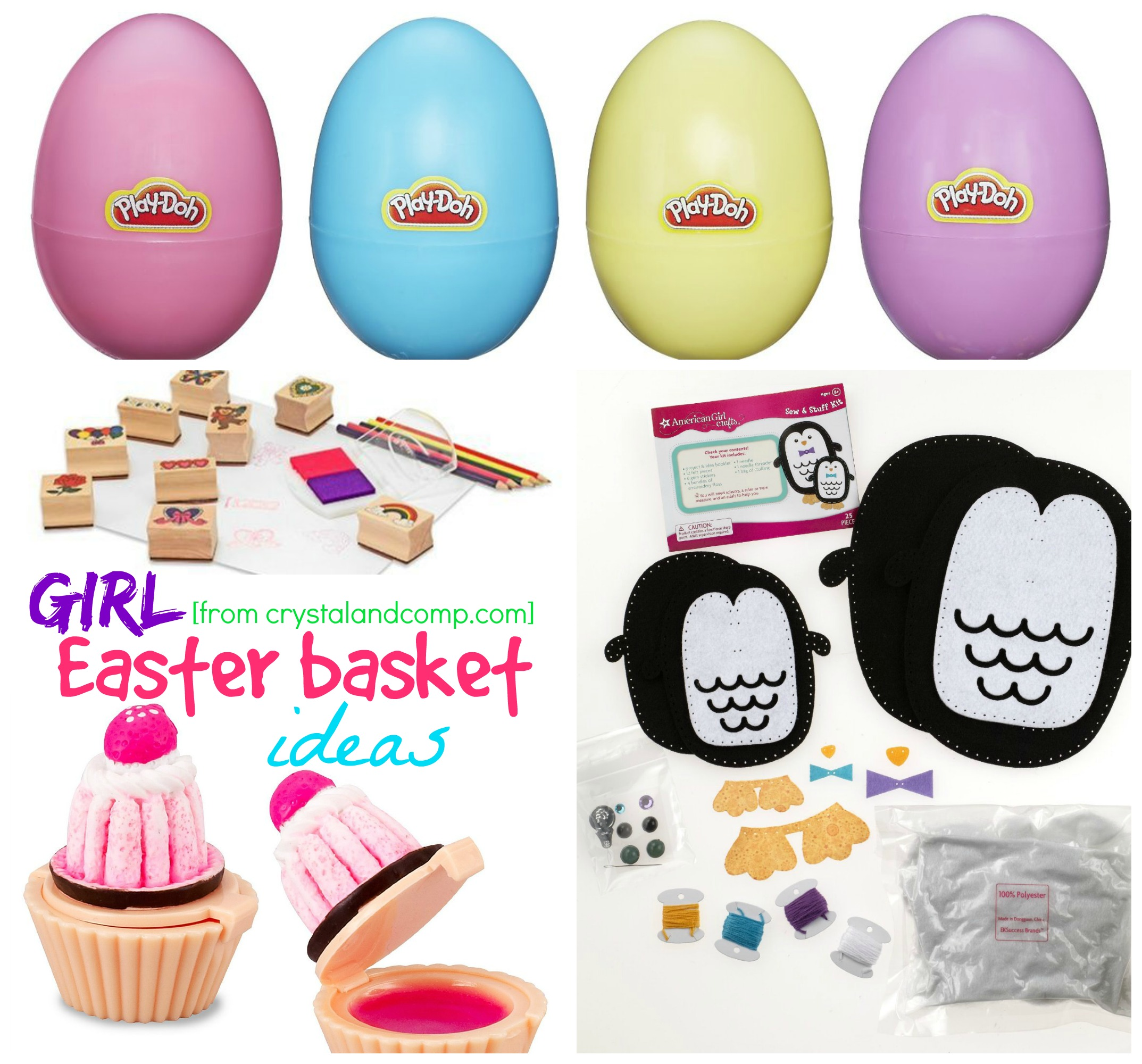 Girl easter basket ideas easter basket ideas for girls negle Gallery