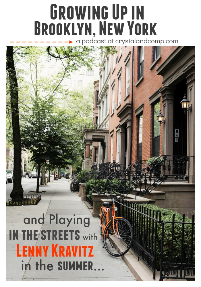 growing up in Brooklyn New York and Playing Stickball with Lenny Kravitz