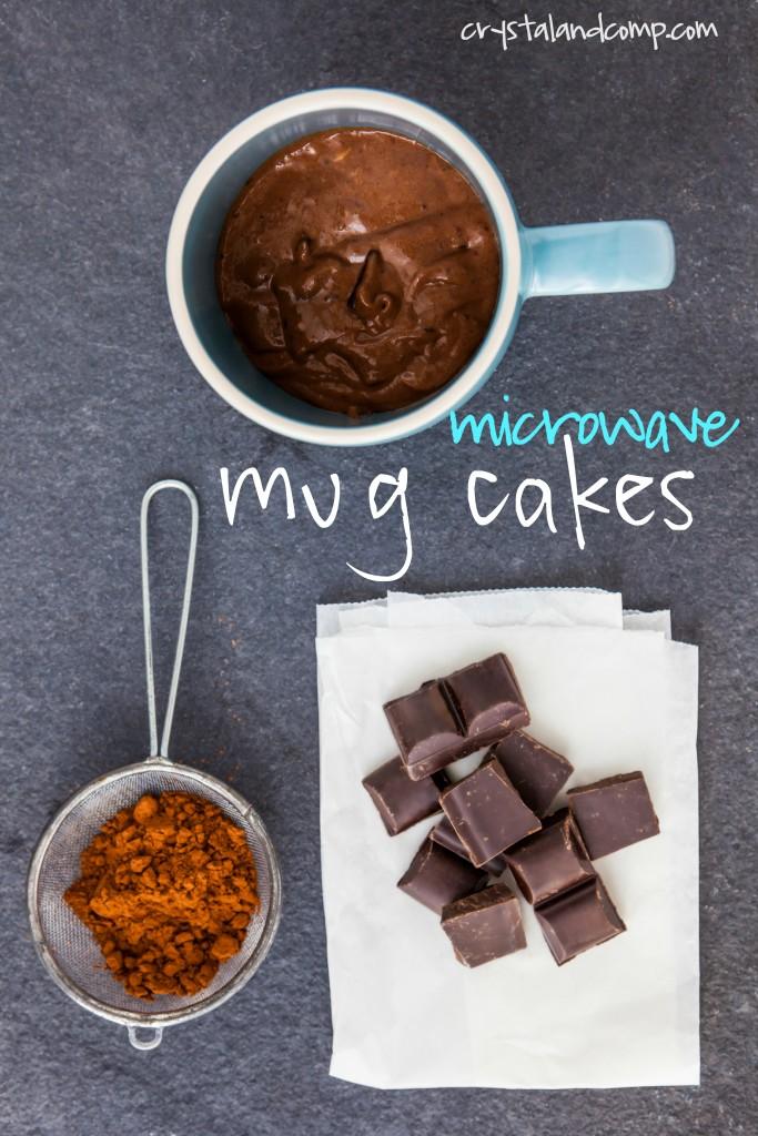 microwave mug cake