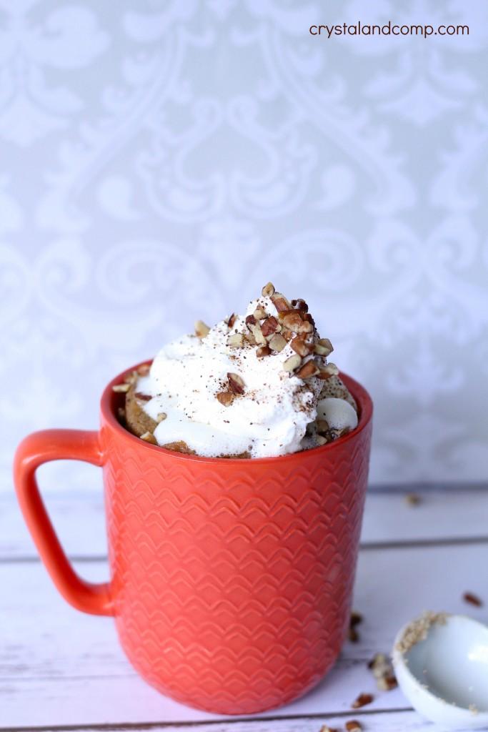mug cake recipe for carrot cake