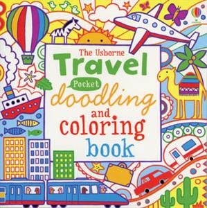 usborne travel pocket doodle book