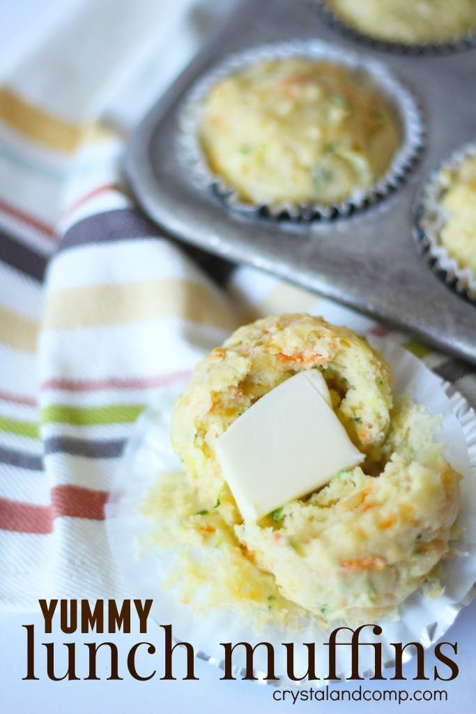 yummy lunch muffins
