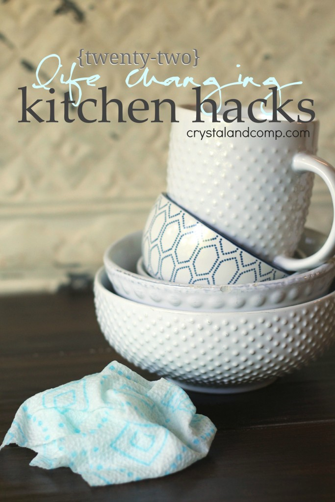 22 kitchen hacks