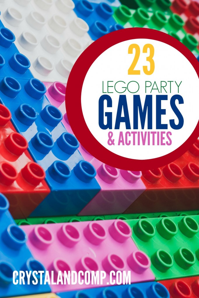 Lego Birthday Party Game Ideas