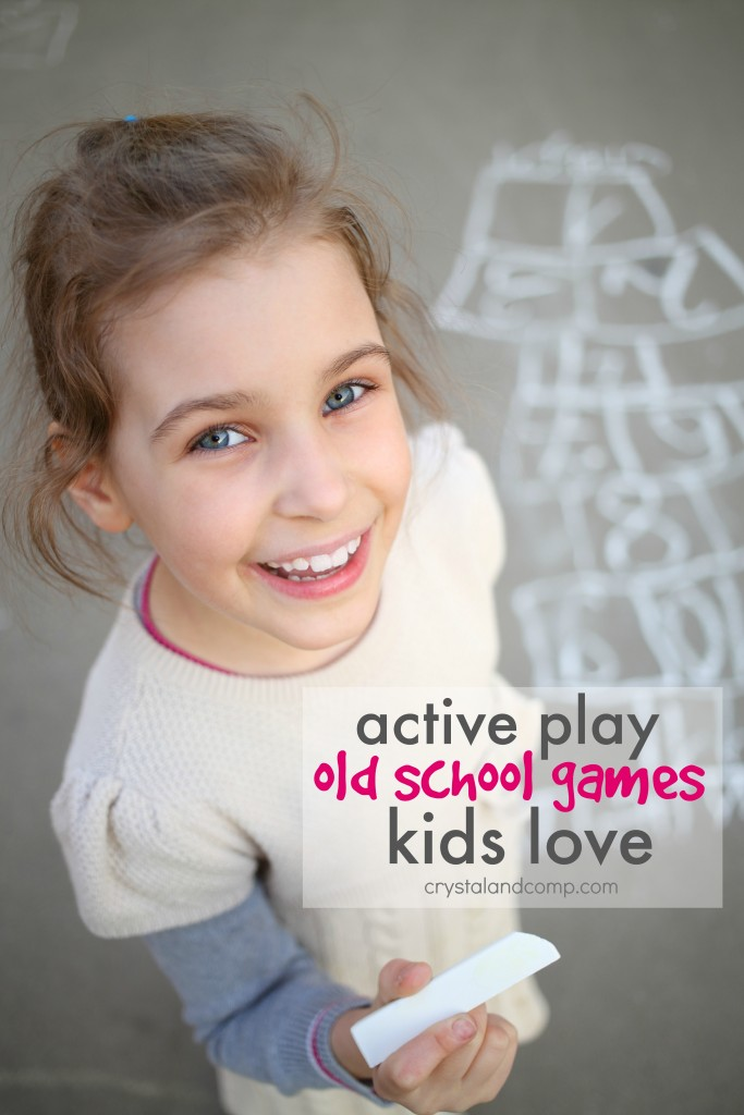 active play games kids love