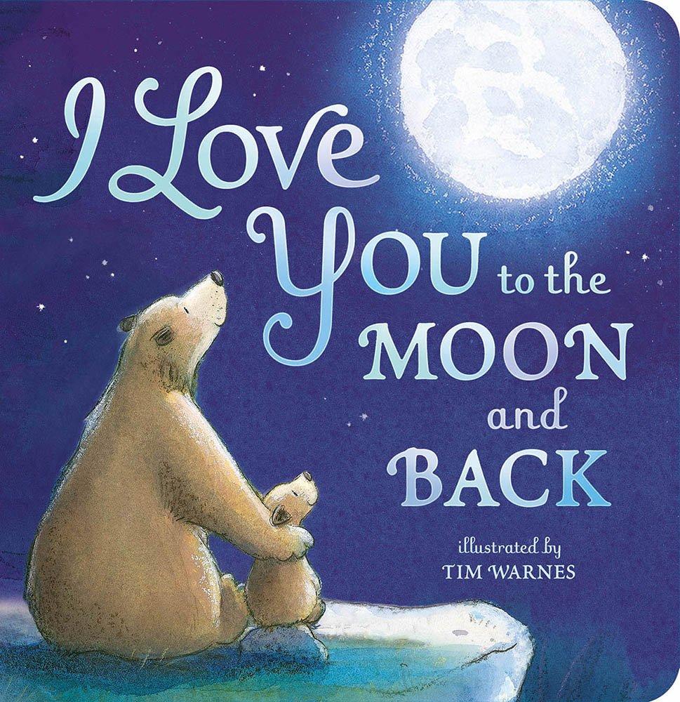 I Love You To The Moon and Back | CrystalandComp.com