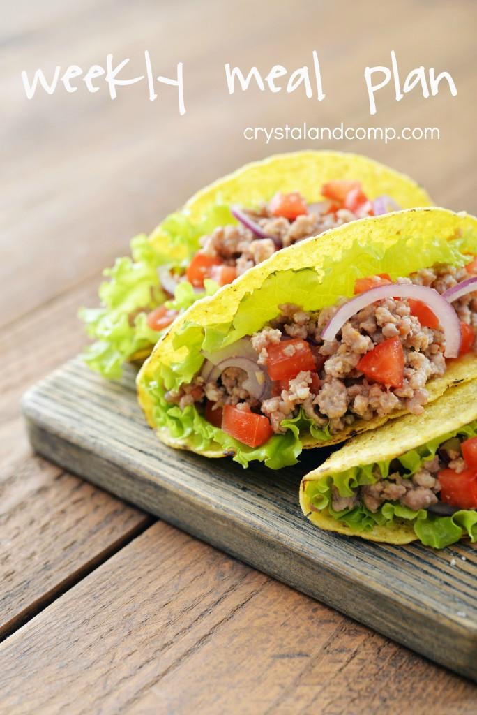 Weekly meal plan ideas week 220 crystalandcomp com