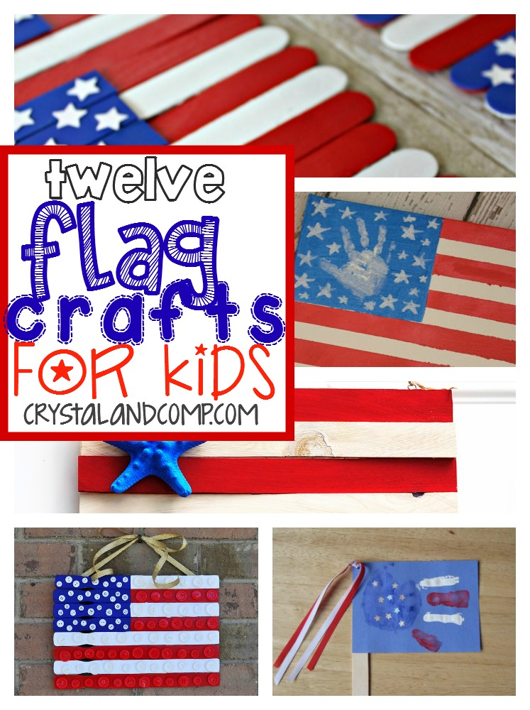12 flag crafts for kids