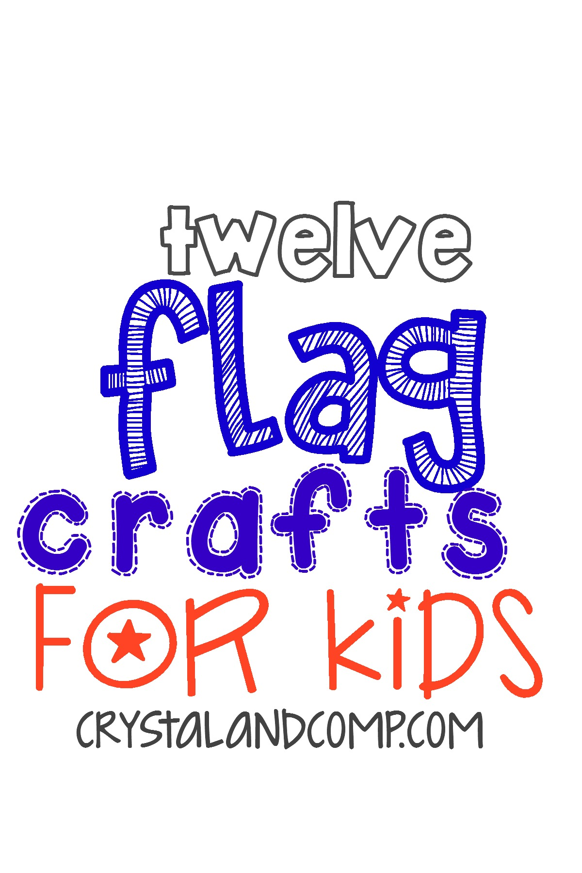 fourth of july crafts  12 flag crafts