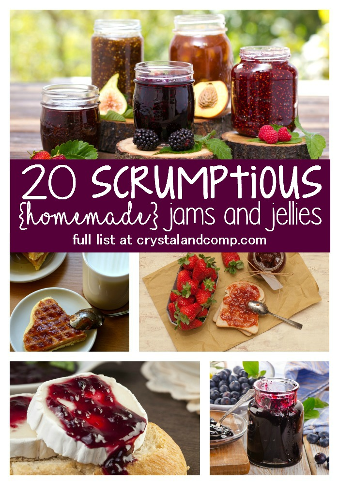 20 scrumptious homemade jam and jellies