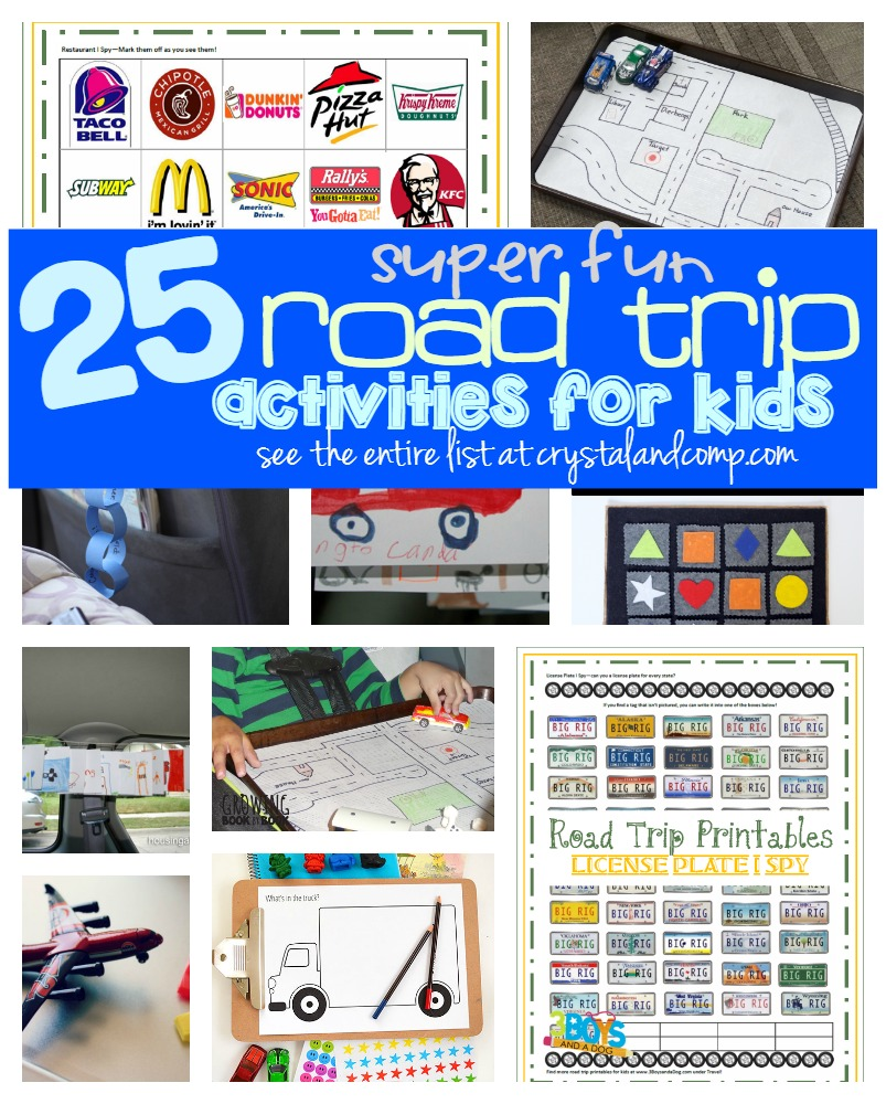 25 super fun road trip activities