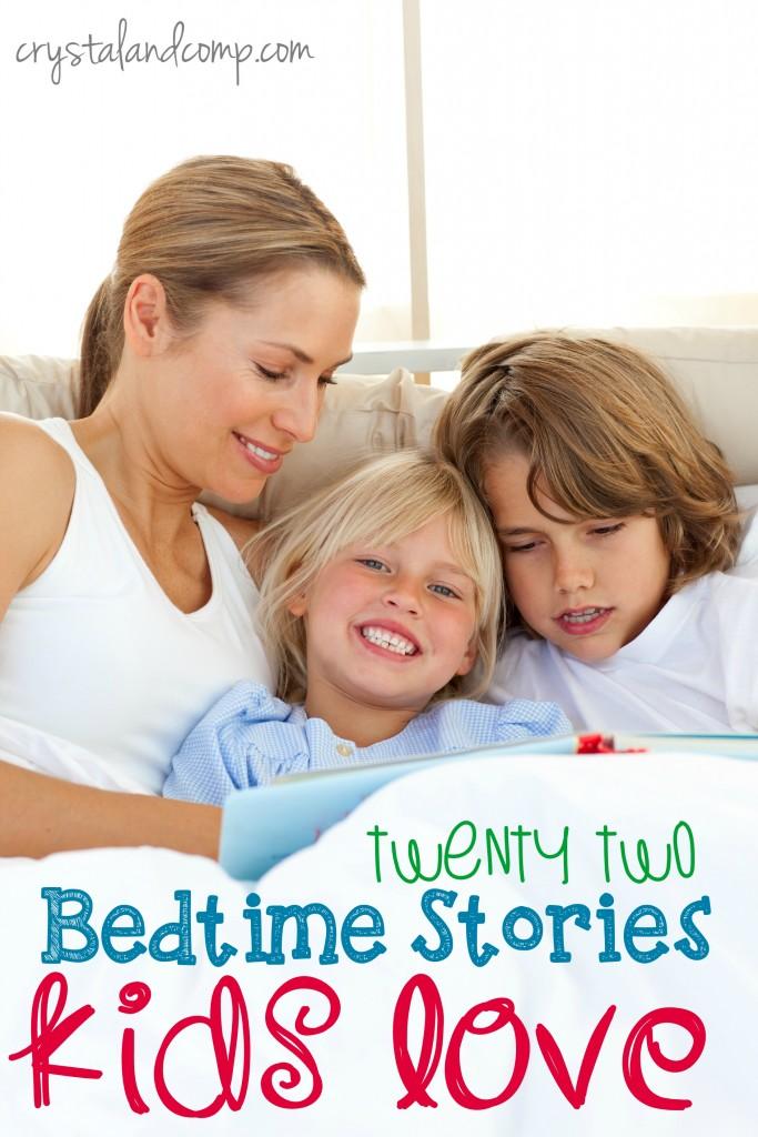22 bedtime stories kids love