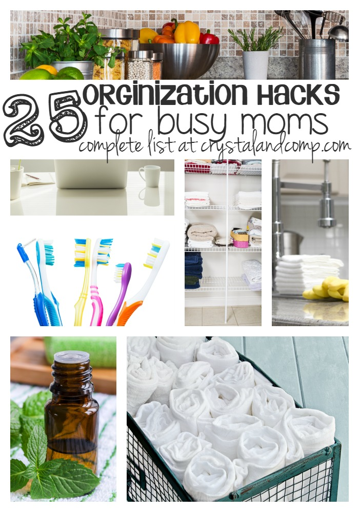 busy moms get organized