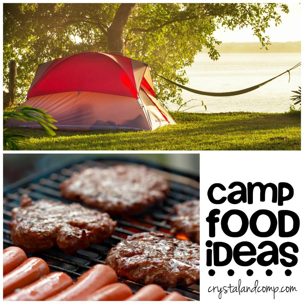 Camp Food Ideas
