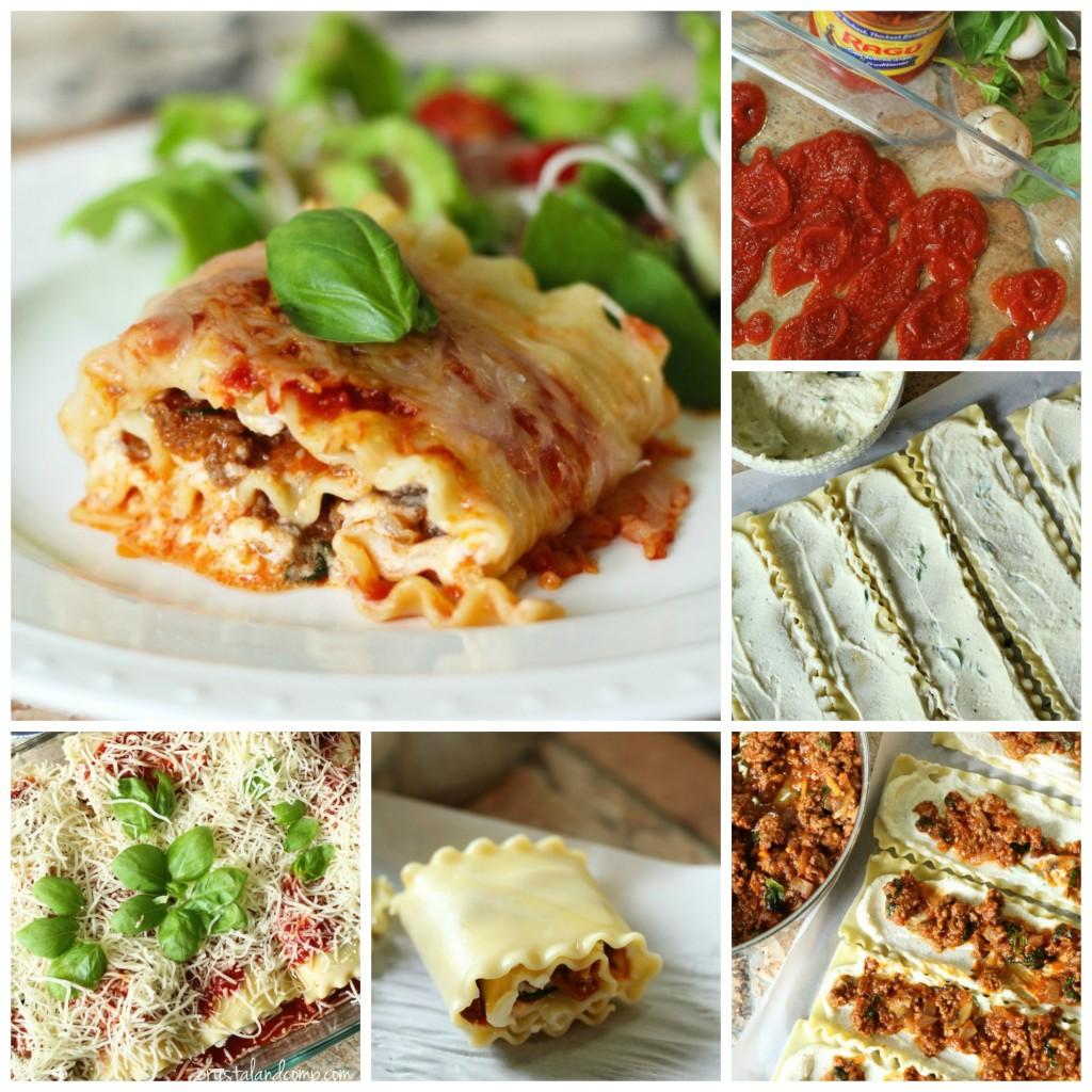 easy lasagna roll up recipe