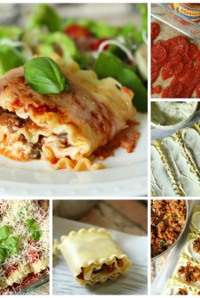 Easiest Ever Lasagna Roll Up Recipe