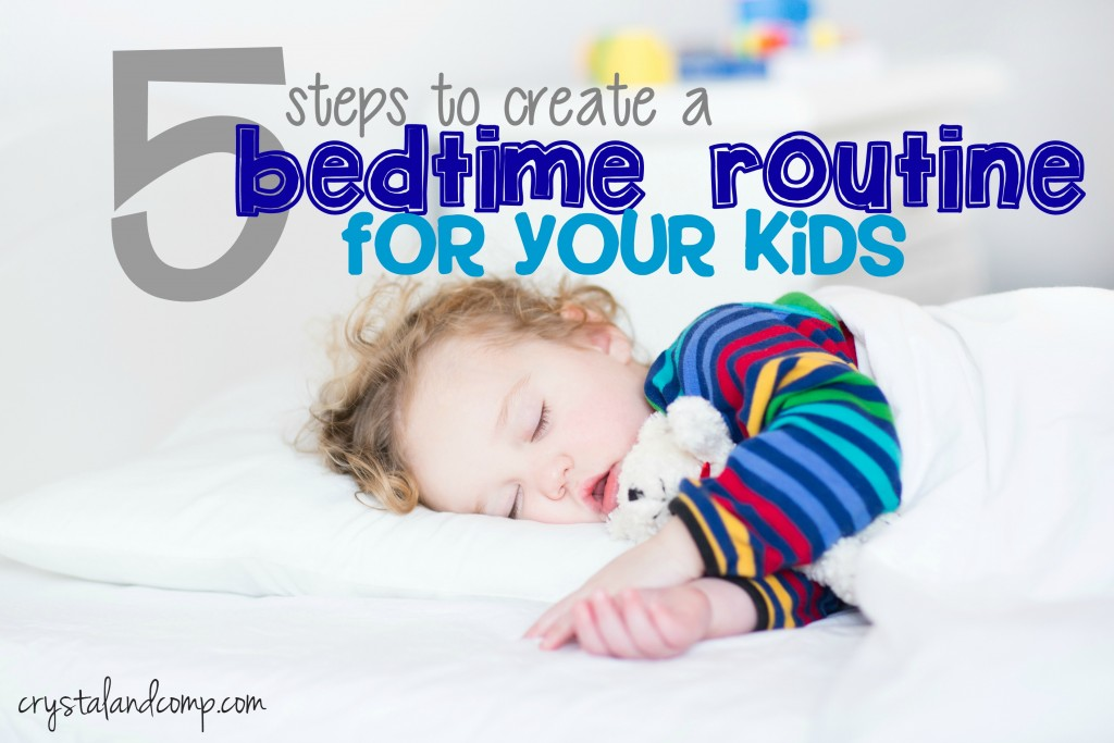 how to create a bedtime routine (1)