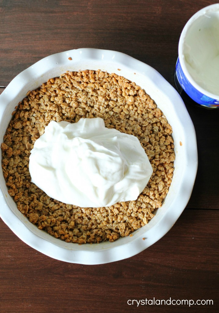 how to make a pie crust out of granola (1)
