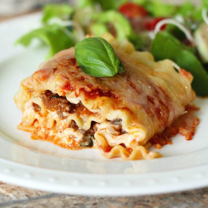 Lasagna Roll Up