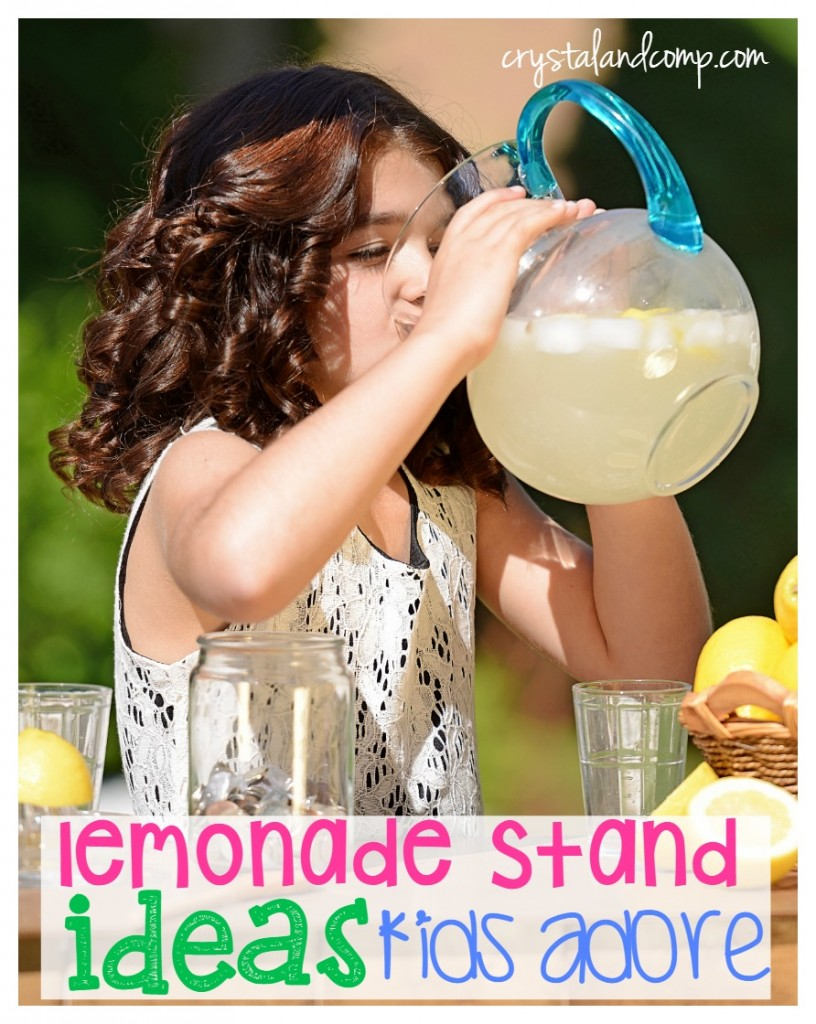 lemonade stand ideas kids adore