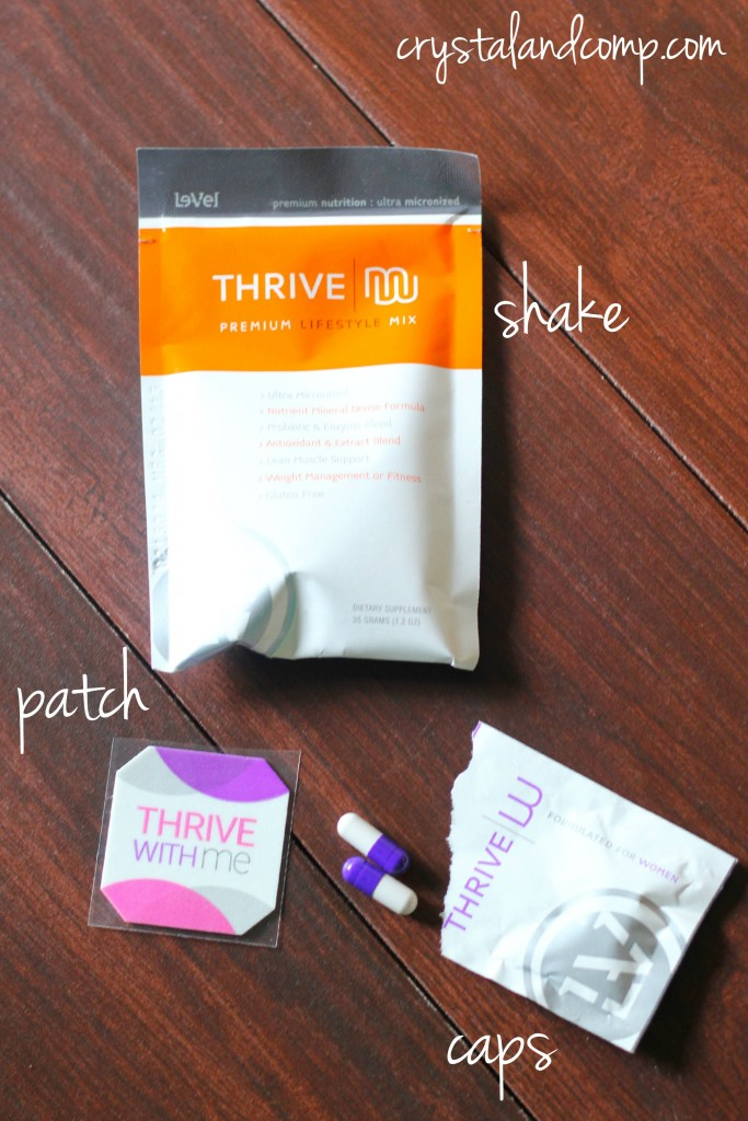 shake patch pill thrive