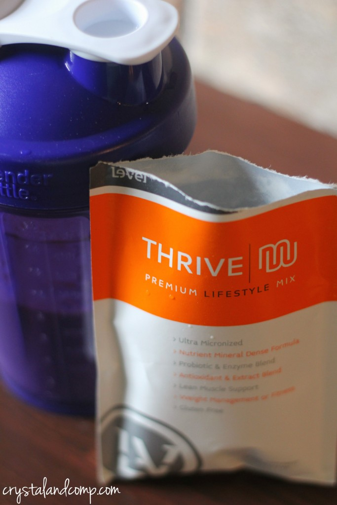 thrive shake mix (probiotics)