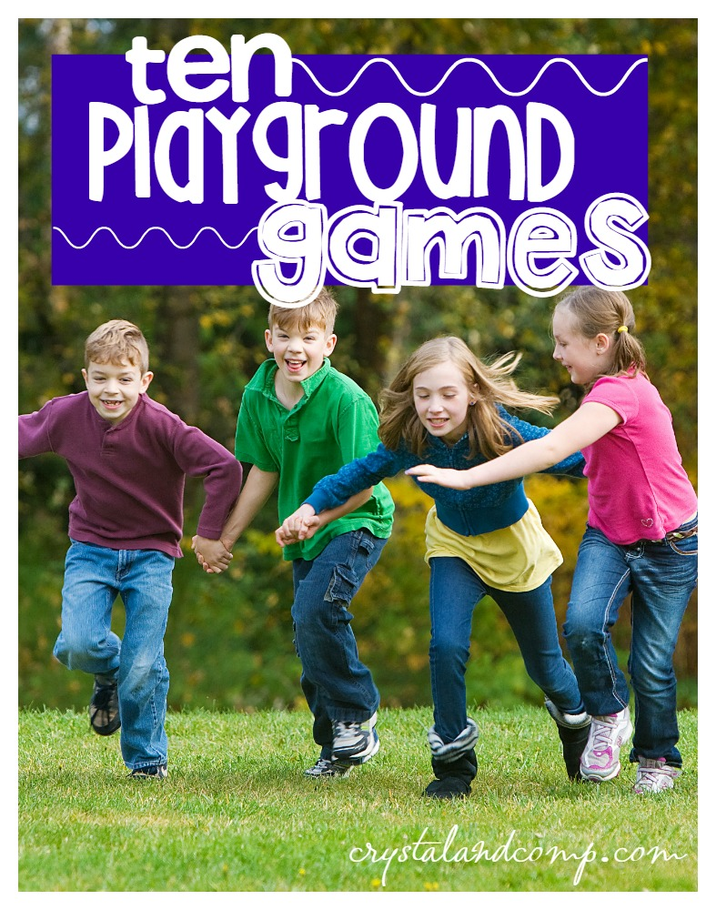 10 playground games for kids