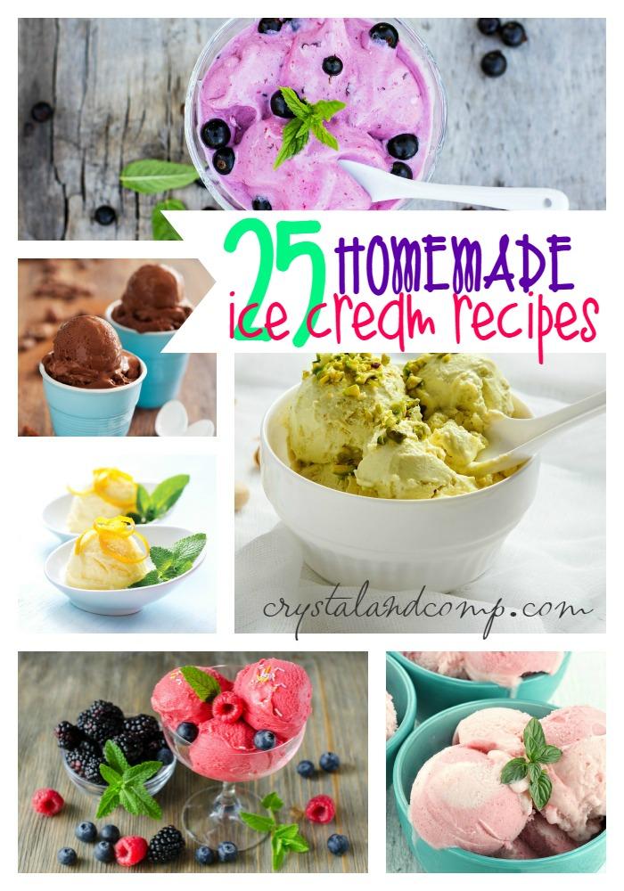 25 homemade ice cream recipes  (1)