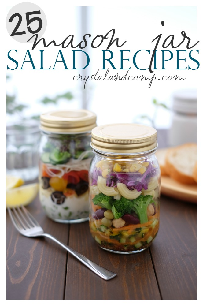 25 mason jar salad recipes