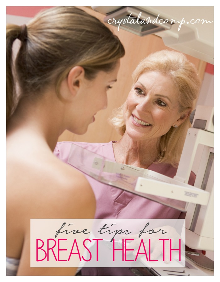5 tips for breast health