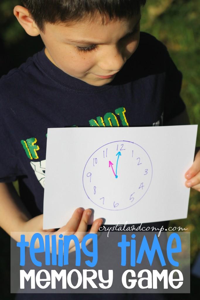 clock memory game
